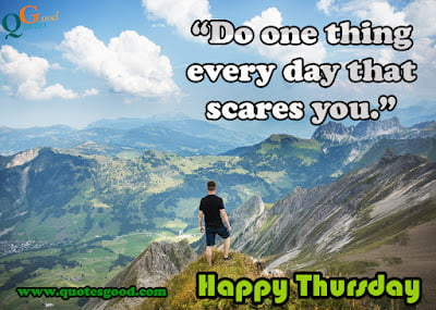 Thursday Inspirational Quotes