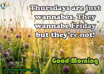 Thursday good morning quotes