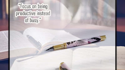Study Quotes on Productivity