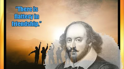 Best Shakespeare Quotes about friendship images