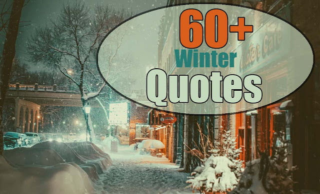 winter quotes quotes about winter