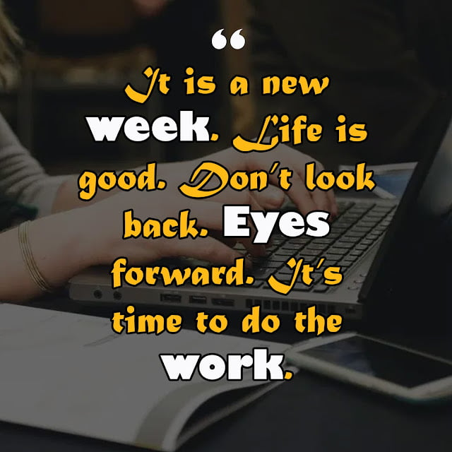 Quote of the week for work 11