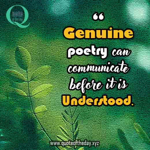 quotes about poetry 150730809